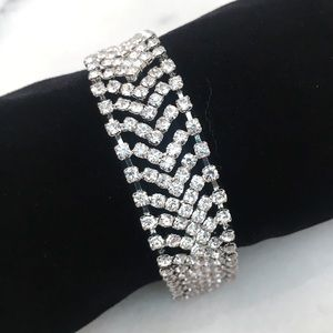 Other - Petite Rhinestone Bracelet